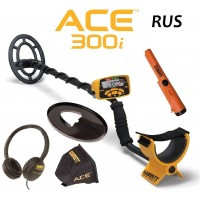 Garrett ACE 300i RUS + Garrett Pro-Pointer AT